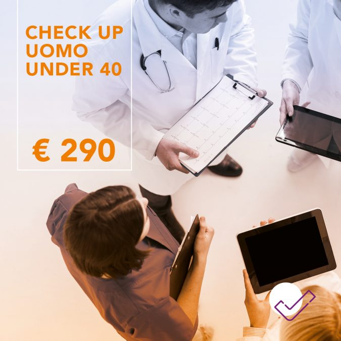 Check-up uomo under 40